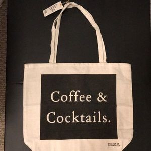 NEW: CottonOn COFFEE & COCKTAILS Reuseable Tote